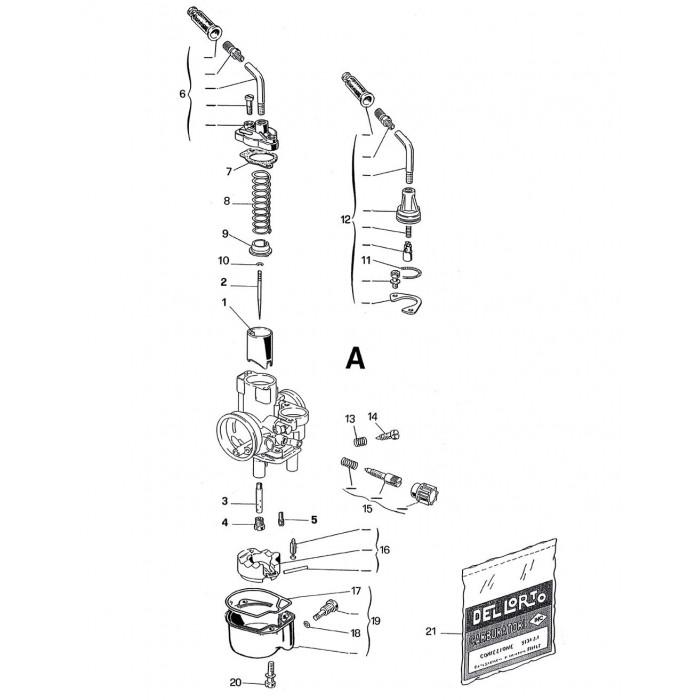 Carburateur PHVB 19 DD