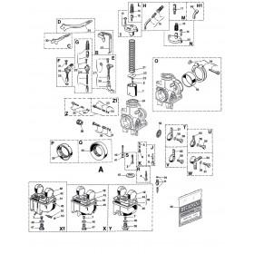 Carburateur PHBH 28 VS