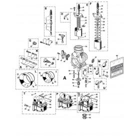 Carburateur PHM 40 SD