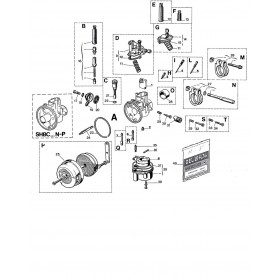 Carburateur SHBC 18 16A