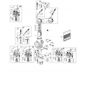 Carburateur VHSB 38 QS