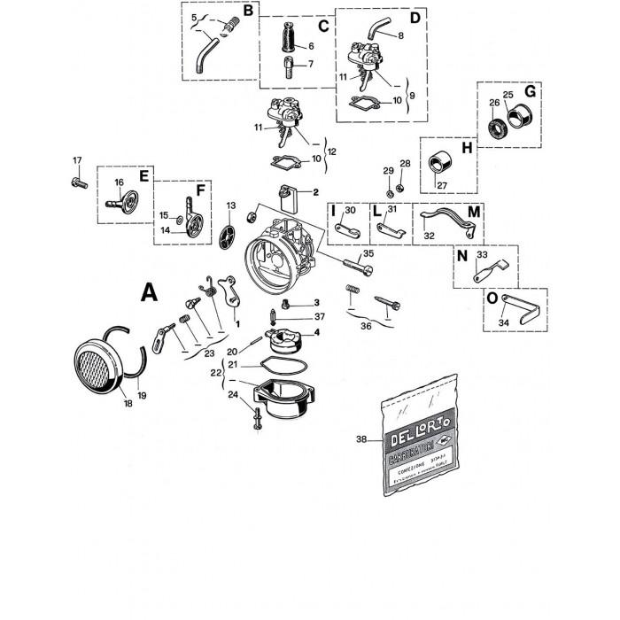 Carburateur SHA 14 12P