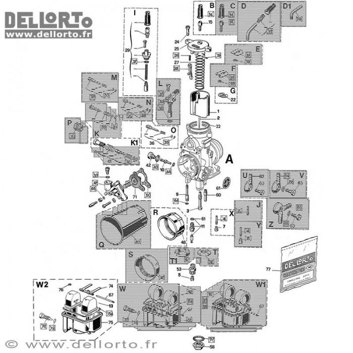 Carburateur PHF 30 DD1