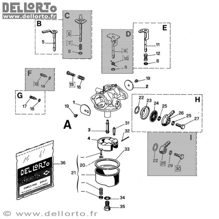 Carburateur FHC 20 16A