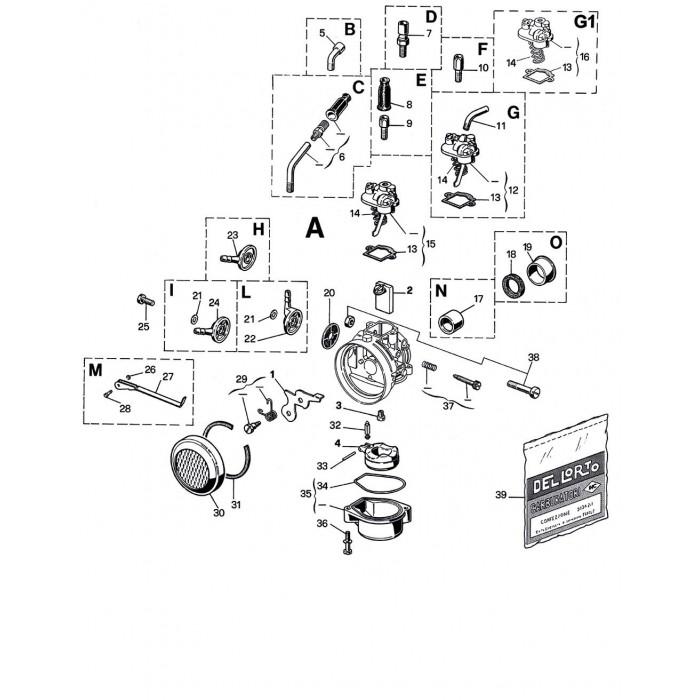 Carburateur SHA 12 10