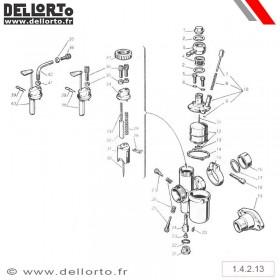 Carburateur Dellorto MA B