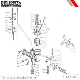 Carburateur Dellorto MA C