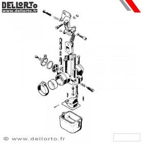 Carburateur dellorto SH 1