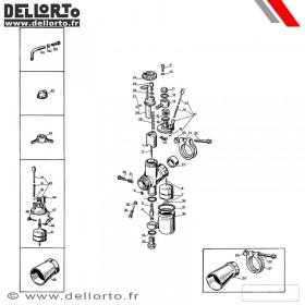 Carburateur Dellorto UB B