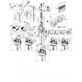 Carburateur PHBL 24 BD