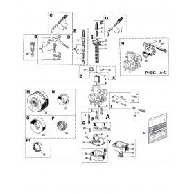 Carburateur PHBG 19 BS
